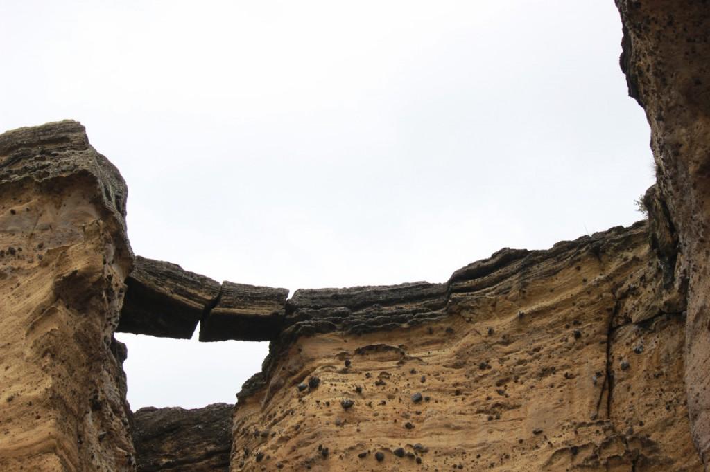 Eine Steinbrücke
